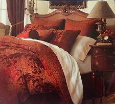 NEW CHARTER CLUB HOME SOFIYA RED KING BEDSKIRT