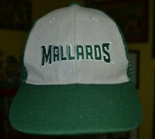 Madison Mallards Meshback Snapback Baseball Hat Cap Northwoods League Minors
