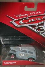 "DISNEY PIXAR CARS 3  ""RIVER SCOTT"" NEW IN PACKAGE, SHIP WORLDWIDE"