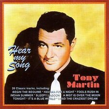 Tony Martin, Hear My Song - 24 Classic Tracks, Excellent Import