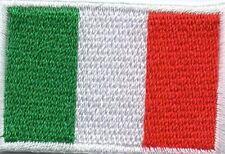 écusson ECUSSON PATCHE THERMOCOLLANT DRAPEAU ITALIE ITALIA DIMENSIONS 4,5 X 3 CM