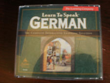 The Learning Company~LEARN TO SPEAK GERMAN~3 CD Set~Version 7.0