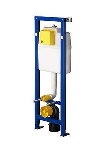 Wisa Excellent XS WC Eck-Vorwandelement mit Eckbausatz und Bedienplatte weiß DF