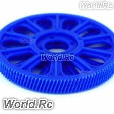 2 x tarot bleu inclinée thread principal drive gear 121T pour T-REX TREX 450-rh45156bu