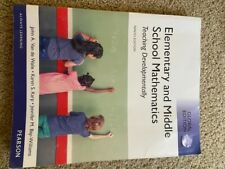 Elementary and Middle School Mathematics 9th ed. w/Code Teaching Developmentally