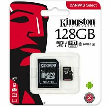 KINGSTON 128GB SDXC Micro SD 80MB/s Memory Card For Sony Xperia XA1 Mobile Phone