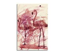 90x60cm Paul Sinus Splash tipo dipinto arte immagine Flamingos