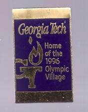 1996 Georgia Tech Atlanta Olympic Village Venue Pin