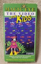 MAGIC EYE THE VIDEO FOR KIDS Vhs Tape 3D Illusions N.E. Thing 1994 Cascom VGC