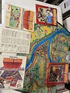 Gamma World Science Fantasy RPG first printing Box Set 7010 1983 TSR Hobbies D&D