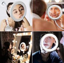 Swan Degree Rotate  Magnifying LED Makeup Mirror Flexible Light Vanity Mirror US