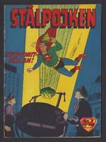 Superboy - Stålpojken - DC Comics - 1959 Vintage Swedish Comic #Nr 7