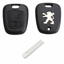Peugeot 106 206 306 406 2 Button Replacement Remote Key Fob Case and VA2 Blade
