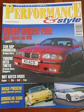 Interantional Performance & Style Mar 1995 Brabus Mercedes, Strosek 911