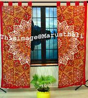 Indian Mandala Curtains Hippie Tapestry Wall Hanging Bohemian Valances Decor Art