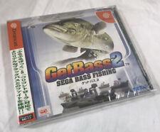 GET BASS 2 Sega Dreamcast Japan Only Factory Sealed Damage To Case