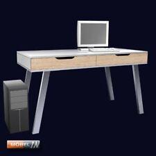 Elegance Schreibtisch + Gestell Bürotisch PC Notebook Laptop Computer-Tisch Weiß