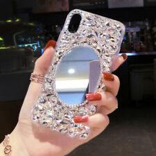 Bling Crystal Glitter Diamonds Mirror Back Case Protective Covers For Sony #3