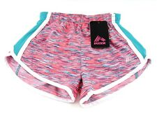 RBX Girls Active Running Shorts Teal Coral Size Medium (5/6) New