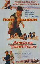 APACHE TERRITORY  (DVD 1958 Rory Calhoun classic western)