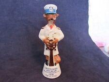 Vintage Jim Beam Queen Mary Captain Bottle & Specialties Club 1978