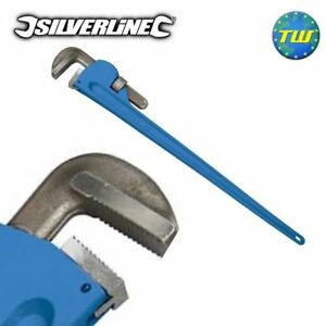 """Silverline 48"""" Extra Large 120cm Stilsons Pipe Monkey Wrench with 110mm Capacity"""