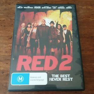 Red 2 DVD R4 Like New! FREE POST