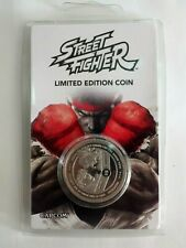 Collector Street Fighter Ryu Silver Collector's Coin Limited Corner n0916