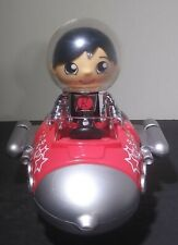 Ryan's World Action Figure Vehicle Pull Back Racer Red Rocket Ship Space Car Toy