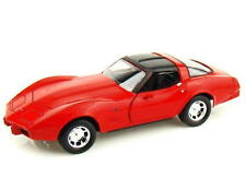 1979 Chevrolet Corvette MOTORMAX Diecast 1:24 Scale Red