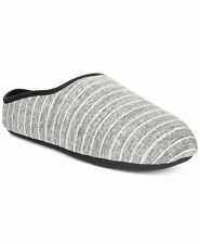 $96 BAR III Men GRAY SCUFFS SLIPPERS INDOOR/OUTDOOR FOAM SLIP-ON SHOE 11-12 XL