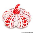Yayoi Kusama Pumpkin Soft Sculpture Plush Doll SIZE L White Red Japan Artist