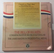 1993 Bill of Rights  Commemorative Coins Uncirculated Silver Half Dollar