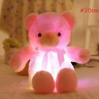 Glühender Spielzeug Bär Spiel für Jungen und Mädchen Geschenk Kind Toys New Rosa
