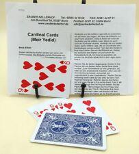 Cardinal Cards, Meir Yedid, Bicycle blau, Topzustand,