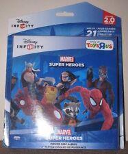 DISNEY INFINITY 2.0 ALBUM - Marvel Super Heroes 2.0 Edition (Holds 21 Discs)