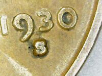 UNITED STATES-1930 'S' WHEATBACK PENNY ERROR S OVER LARGE S?