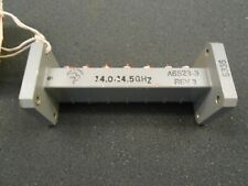 WR75 WAVEGUIDE BAND PASS FILTER 14.0-14.5 GHz A6523-3,  4 INCH BPF VSAT KU BAND