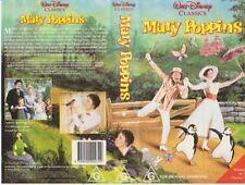 Vhs * Mary Poppins *  Walt Disney Classics Issue - Julie Andrews Dick Van Dyke!