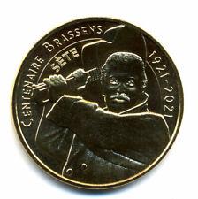 34 SETE Georges Brassens 1921-2021, 2021, Monnaie de Paris