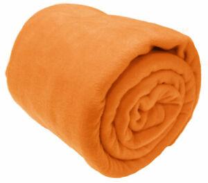 Large Fleece Throw Luxury Warm Soft Polar Blanket Sofa Bed Travel Throwover