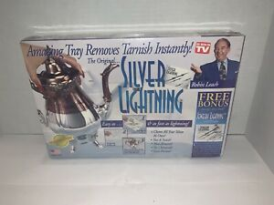 NEW Silver Lightning Jewelry Cleaner Tarnish Remover As Seen On TV Sealed NIB
