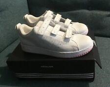 Adidas Smatro Ladies Velcro Tennis Shoes Size 5.5 UK