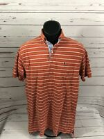 Mens Tommy Hilfiger Polo Shirt With Crest Size Medium