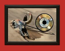 """The Eagles Poster Art Wood Framed 45 Record Display """"C3"""""""