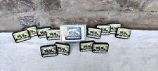 Vintage Rare Three Knights Condom Cardboard Box 12 Tins Inside Complete BOX USA