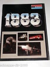 MONOGRAM 1983 MODELLBAUSATZ KATALOG DEUTSCH  UNIVERSAL FILMMONSTER PANZER AUTOS