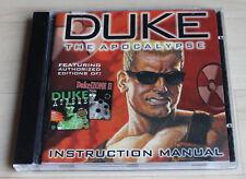 Duke Nukem 3d Addons Apocalypse: Duke! zone 2 + DUKE Xtreme (PC, 1997, Jewel-Case)