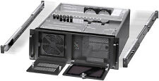 "4U (3x5.25""+ 9x3.5""Bay) (w/ 24"" Rail Set) (Rackmount Chassis) (mATX/ITX Case)NEW"
