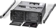 "4U (3x5.25""+ 9x3.5""Bay) (w/ 24"" Rail Set) (Rackmount Chassis) (mATX/ITX Case)NEW"